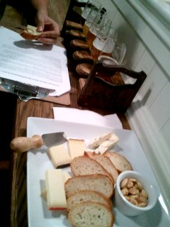 beer and cheese at The Bruery Provisions