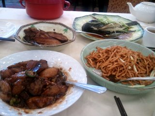 a $20 Chinese meal