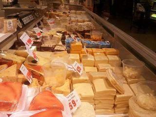 cheeses at Dutch Country Farmers Market