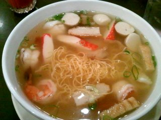House Special Thin Egg Noodle Soup