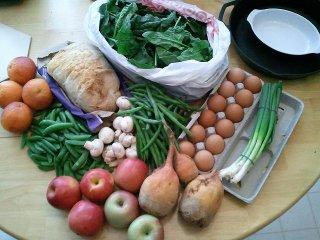 spring CSA week 6 pickup
